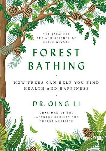 Capa do livro Forest Bathing
